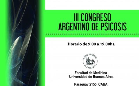 III CONGRESO DE ARGENTINO DE PSICOSIS